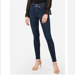 Express High Waisted Denim Perfect Lift Jean